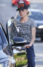 Jaime King Makes a quick trip to the liquor store in Los Angeles