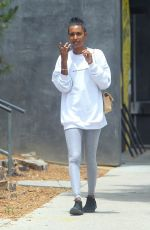 Jasmine Tookes, Chantel Jeffries, Jocelyn Chew Out for lunch in Los Angeles