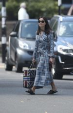 Jenna Coleman Leaving her home in London
