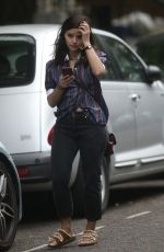 Jenna Louise Coleman Out in London