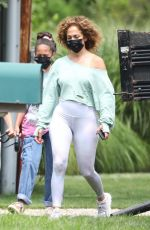 Jennifer Lopez Out for a walk in the Hamptons