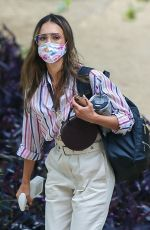 Jessica Alba Out in Los Angeles