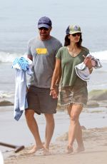Jordana Brewster At beach in Malibu