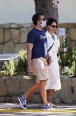 Jordana Brewster Enjoying some romancing out in Los Angeles