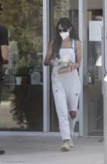 Jordana Brewster Out for coffee at Blue Bottle Coffee in Malibu