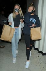 Josie Canseco As she is spotted leaving Catch after dinner with a friend in West Hollywood