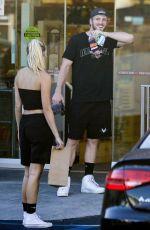 Josie Canseco Heads into Rite Aid for some essentials in Malibu