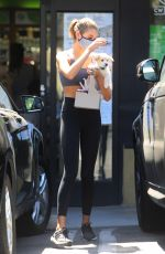 Kaia Gerber At workout in West Hollywood, California