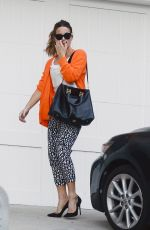 Kate Beckinsale Outside her home in Pacific Palisades