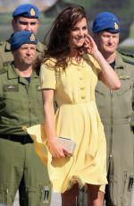 Kate Middleton Arrives at Calgary Airport on 7.7.2011 in Yellowknife