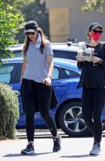 Katherine Schwarzenegger With her sister Christina hiking together and pick up starbucks on the way in Santa Barbara