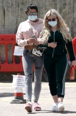 Katie Price Leaving Hospital With Close Friend After Visiting Her Eldest Son Harvey Who Was Taken To Hospital