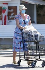 Katy Perry Goes grocery shopping at Vons in Santa Monica