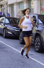 Kelly Bensimon Heads out For a Jog in New York City