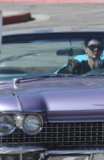 Kendall Jenner Goes for a cruise around Malibu