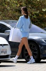 Kendall Jenner Shopping in Malibu