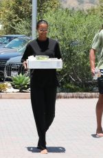 Lais Ribeiro Seen out & about in Malibu
