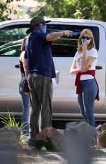 Laura Dern Out in Pacific Palisades