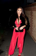 Lauren Goodger Seen out and about in Essex last night