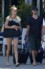 Lily Flynn and Alessandro Pera enjoying some downtime in Portofino
