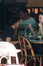 Lily-Rose Depp At the Café Quartier General in Paris