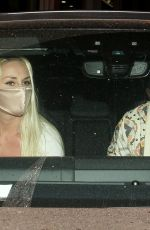Lindsey Vonn Out at dinner in West Hollywood