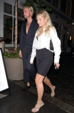 Lottie Moss On a night out at Bluebird Chelsea