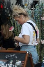 Lottie Moss Out and about, London