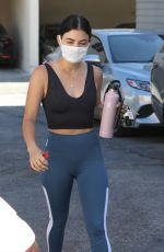 Lucy Hale At a Pilates studio in LA