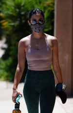 Lucy Hale At Fryman Canyon in Studio City