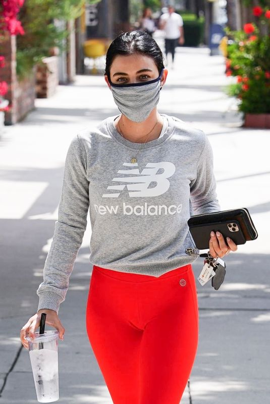 Lucy Hale At Training mate in Studio City