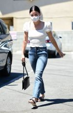 Lucy Hale Goes to get waxed and a skin treatment in LA