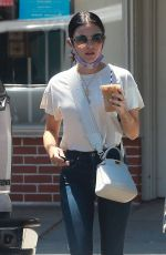 Lucy Hale & Nina Dobrev run into each other out in LA