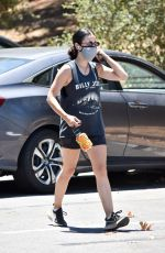 Lucy Hale Out for a hike at Laurel Canyon in LA