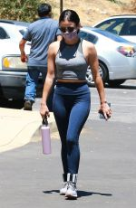 Lucy Hale Out for a hike in Los Feliz