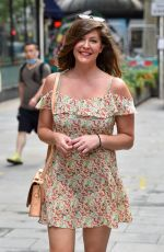 Lucy Horobin Pictured outside the Global Studios in London