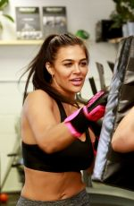 Lydia Clyma Celebrates the opening of her favourite gym after COVID closure with a total workout
