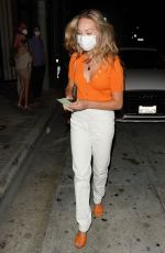 Maddie Ziegler At Catch Restaurant in West Hollywood