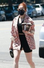 Madelaine Petsch Out in Studio City