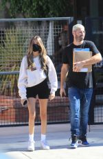Madison Beer At a salon in West Hollywood