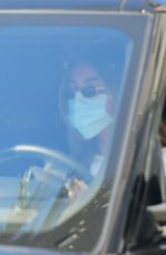 Madison Beer Goes to a skin doctors office for treatment in Beverly Hills