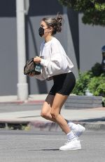 Madison Beer Going to a gym in West Hollywood