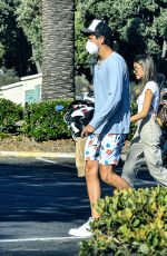 Madison Beer Picking up some Sushi for lunch with a mystery man in Calabasas