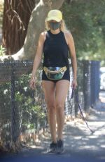 Malin Akerman Out with her dog in Los Feliz