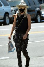 Malin Akerman Taking her dog for a walk in Los Angeles