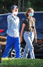 Maya Hawke and Tom Sturridge load up on essentials at a CVS in The Hamptons