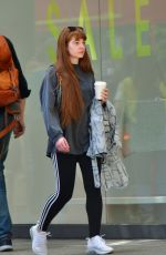 Nicola Roberts Spotted with a coffee in hand on High Street Kensington