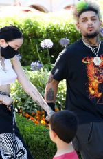 Noah Cyrus Steps out with new boyfriend and make a stop at Sunlife Organics in Calabasas