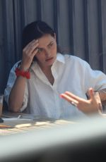 Phoebe Tonkin Enjoys lunch with friends in Beverly Hills