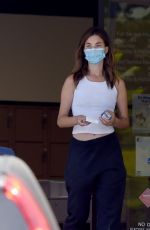 Rainey Qualley At a Post Office in Los Angeles
